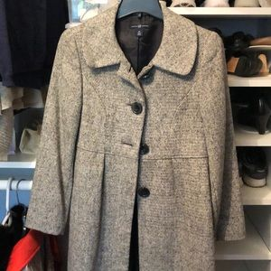 Gap tweed coat xs